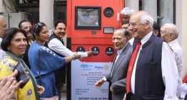 Spark Minda Foundation and Rotary Club install Reverse Vending Machine in Delhi High Court