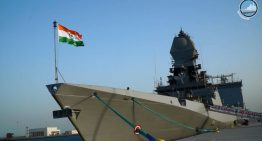 Indian Navy ships INS Kolkata and Shakti arrive in South Korea to participate in ADMM-PLUS