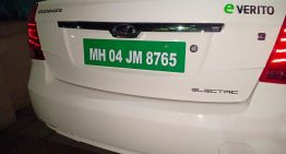 All electric cars to have green number plates