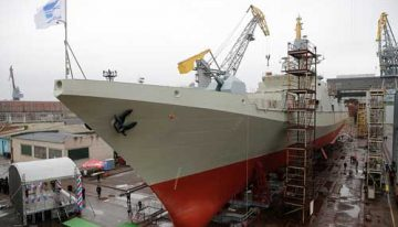 Russia To Deliver 2 Anti-Submarine Frigates To Indian Navy By 2023