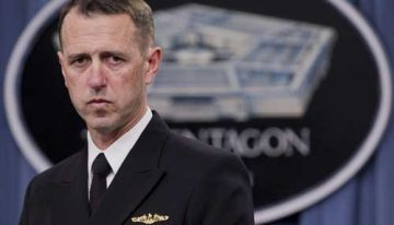 US Navy Chief Admiral John Richardson likely to visit India on May 12, to meet Indian service chiefs