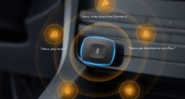 Alexa-enabled smart car charger