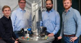 Magnetic system cools close to absolute zero