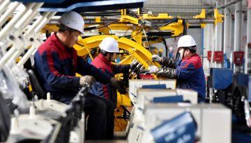 China – China's industrial output growth lowest in over 17 years