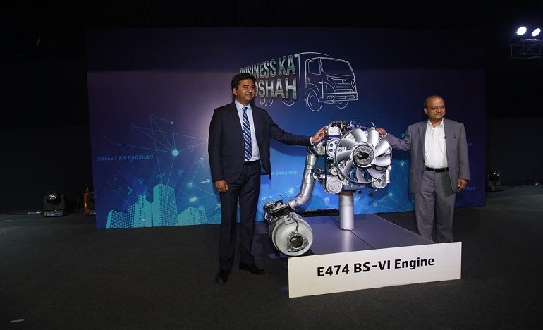 VECV becomes the first company to showcase BS-VI compliant commercial vehicles