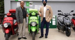 Li-ions Elektrik Solutions launches high-speed electric scooter Spock in India
