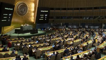 UN adopts resolution calling for 'cooperation' on virus
