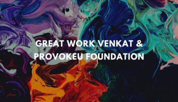 ProvokeU foundation – Helping Chennai Fight Covid19