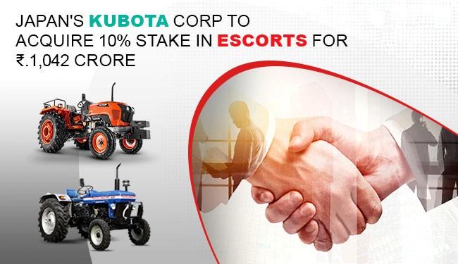 Escorts-Kubota deal gets CCI nod