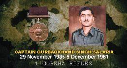 Captain Gurbachan Singh Salaria, PVC