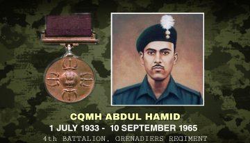 Company Quartermaster Havildar Abdul Hamid, PVC