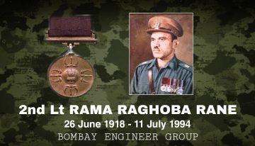 Major Rama Raghoba Rane,PVC