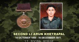 Second Lieutenant Arun Khetarpal, PVC
