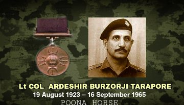 Lt ColArdeshir Burzorji Tarapore,PVC