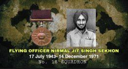 Flying Officer Nirmal Jit Singh Sekhon, PVC