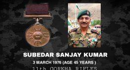 Rifleman Sanjay Kumar , PVC